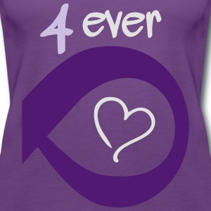 Couple Together forever Infinity T-shirts - Vrouwen Premium tank top
