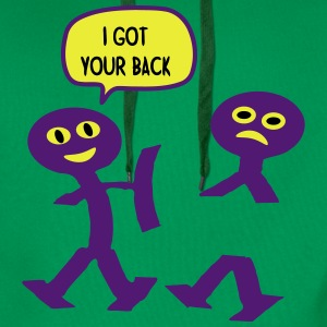 I Got Your Back T-shirts - Herre Premium hættetrøje