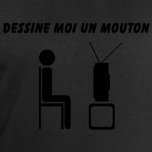 Dessine moi un mouton anti télévision - Sweat-shirt Homme Stanley & Stella