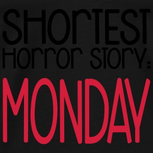 Shortest Horror Story: Monday Top - Maglietta Premium da uomo
