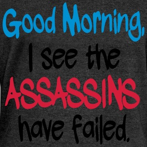 Assassins have Failed Tee shirts - Pull Femme col bateau de Bella
