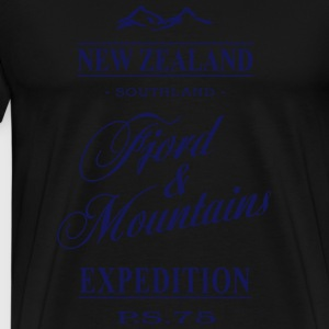 New Zealand  Aprons - Men's Premium T-Shirt