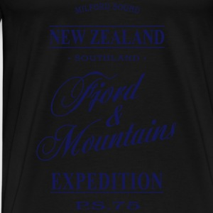 New Zealand Tops - Männer Premium T-Shirt
