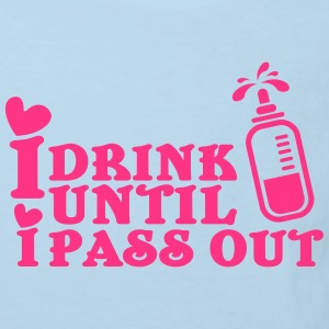 I drink until I pass out T-shirts - Ekologisk T-shirt barn