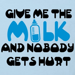 Give me the milk and nobody gets hurt Camisetas - Camiseta ecológica niño