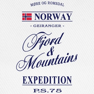 Norway - Fjord & Mountains Tops - Baseball Cap