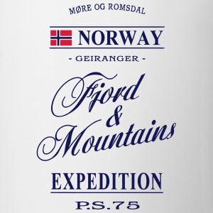 Norway - Fjord & Mountains T-shirts - Kop/krus