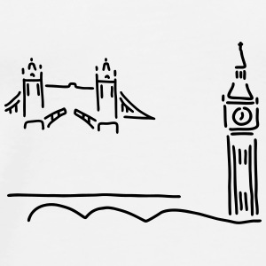 london tower bridge big ben - Männer Premium T-Shirt