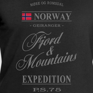 Norway - Fjord & Mountains T-Shirts - Men's Sweatshirt by Stanley & Stella