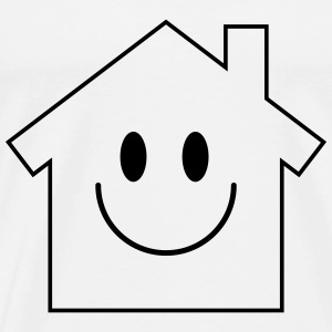 Smiley House Tops - Mannen Premium T-shirt
