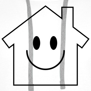 Smiley House Tops - Men's Premium Hoodie