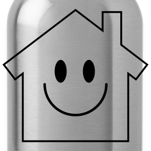 Smiley House T-Shirts - Trinkflasche
