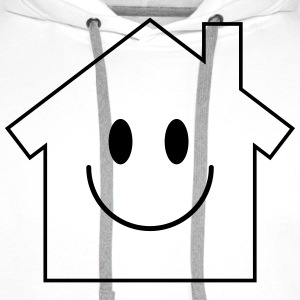 Smiley House T-shirts - Premiumluvtröja herr