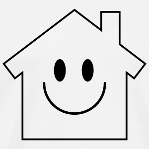Smiley House Tanktoppar - Premium-T-shirt herr