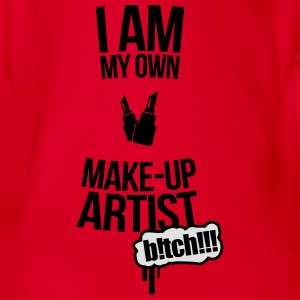 I am my own makeup artist Baker 2f Shirts - Organic Short-sleeved Baby Bodysuit