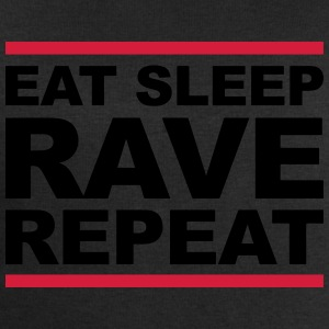 EAT SLEEP RAVE REPEAT T-shirts - Mannen sweatshirt van Stanley & Stella