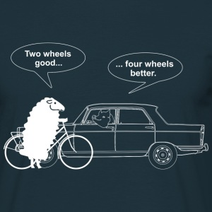 Bicycle vs Car Sweaters - Mannen T-shirt