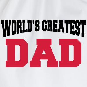 World's greatest Dad Magliette - Sacca sportiva