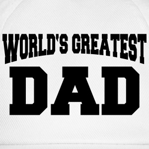 World's greatest Dad T-shirts - Baseballcap