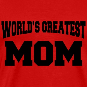 World's greatest Mom Manga larga - Camiseta premium hombre