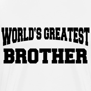 World's greatest Brother Skjorter med lange armer - Premium T-skjorte for menn