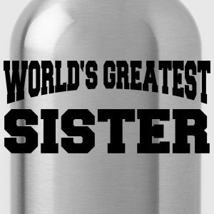 World's greatest Sister Koszulki - Bidon