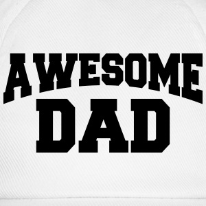 Awesome Dad Manches longues - Casquette classique