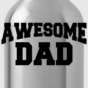 Awesome Dad T-shirts - Drikkeflaske