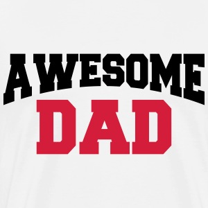 Awesome Dad Manches longues - T-shirt Premium Homme