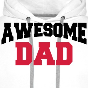 Awesome Dad Tee shirts - Sweat-shirt à capuche Premium pour hommes