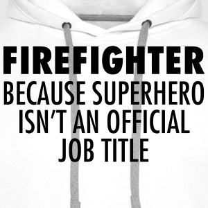 Firefighter - Superhero T-Shirts - Men's Premium Hoodie