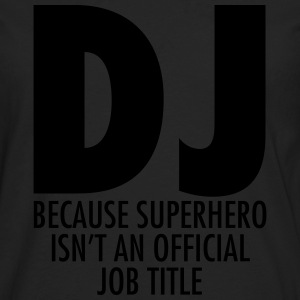 DJ - Superhero T-Shirts - Men's Premium Longsleeve Shirt