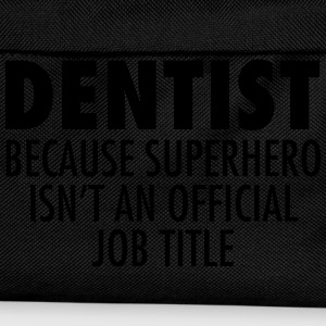 Dentist - Superhero T-Shirts - Kinder Rucksack
