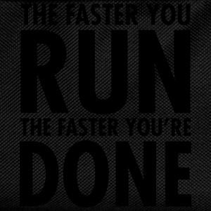 The Faster You Run - The Faster You're Done Topy - Plecak dziecięcy