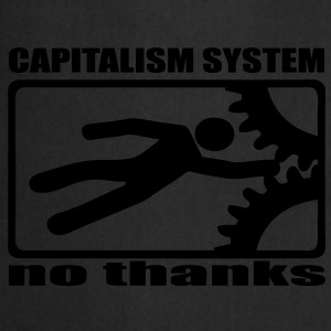 Capitalism no thanks capitalisme non merci - Tablier de cuisine