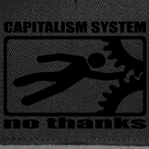 Capitalism no thanks capitalisme non merci - Casquette snapback