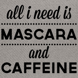 Mascara And Caffeine  Hoodies & Sweatshirts - Snapback Cap