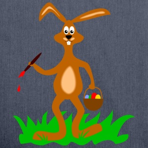 osterhase T-Shirts - Schultertasche aus Recycling-Material