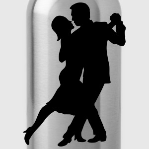 Tango Couple T-Shirts - Water Bottle