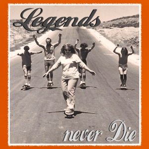 Longboard Legends never Die - The Logan Family T-Shirts - Baby T-Shirt