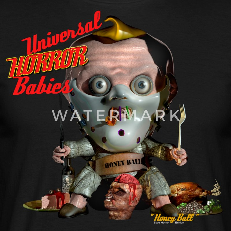 Universal Horror Babies 3 -  Honey Ball  T-Shirts - Männer T-Shirt