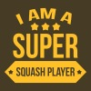 Super Squash Player / Sport T-shirts - Mannen Premium T-shirt