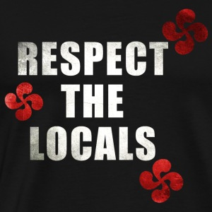 Respect the Locals 3 Manches longues - T-shirt Premium Homme