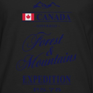 Canada - Ontario Tee shirts - T-shirt manches longues Premium Homme
