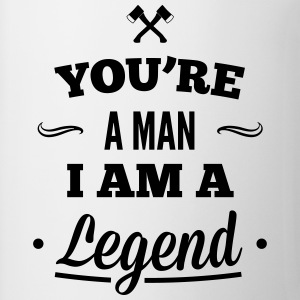 legend3_1f Camisetas - Taza