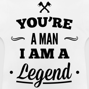 legend3_1f Sweats - T-shirt Bébé