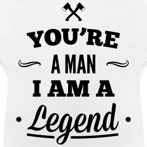 legend3_1f Sweaters - Baby T-shirt