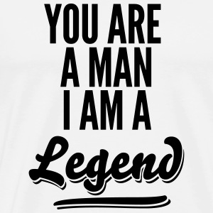 legend2_1f Vêtements de sport - T-shirt Premium Homme