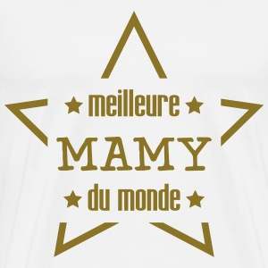 Meilleure Mamy [ Mamie / Grand Mere / Drôle ] Tabliers - T-shirt Premium Homme