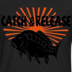 catch and release T-Shirts - Men's Premium Longsleeve Shirt